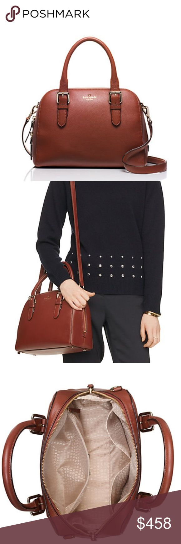 Brighton Park Pebble Small Felix tan crossbody New in packaging. Perfect staple bag. Can be worn on the shoulder or wrist. Buy two or more items and save 10%  kate spade Bags