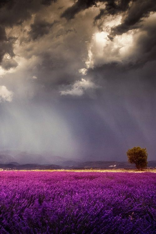 The big storm, Riez France, by Reto Imhof