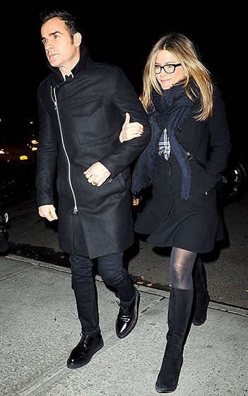 Jennifer Aniston and Justin Theroux's Matching Style - Us Weekly