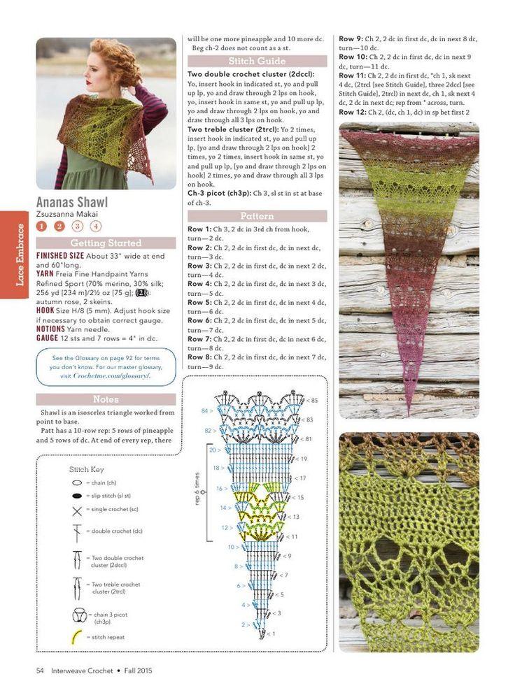 Interweave Crochet Fall 2015 - 轻描淡写 - 轻描淡写