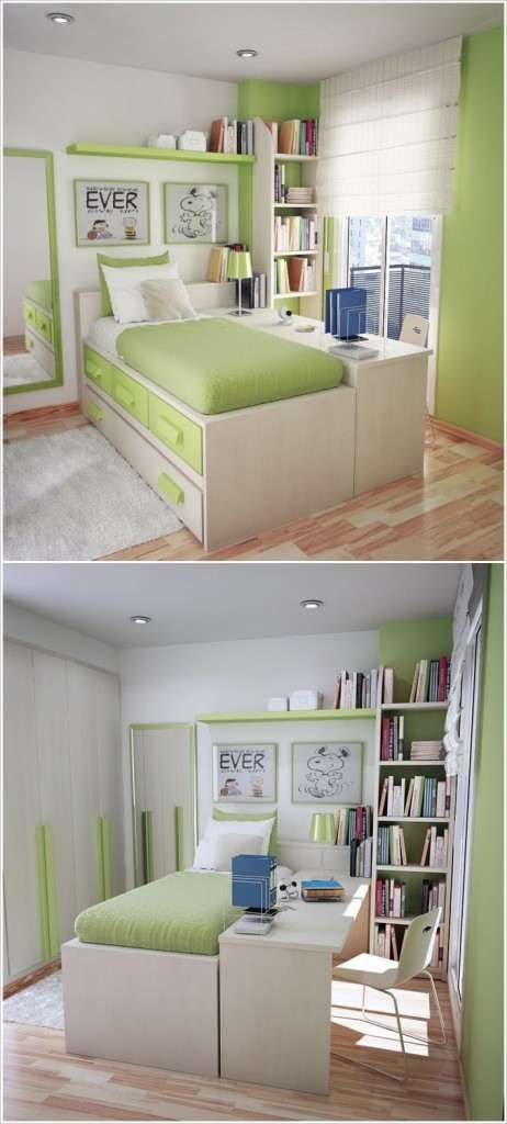 1000 Ideas About Small Desk Bedroom On Pinterest Kids Rooms Decor Mirrored Vanity And