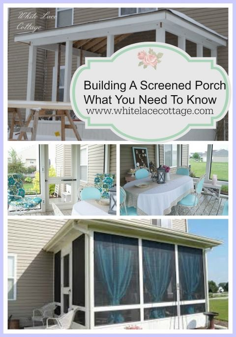 building a screened porch what you need to know