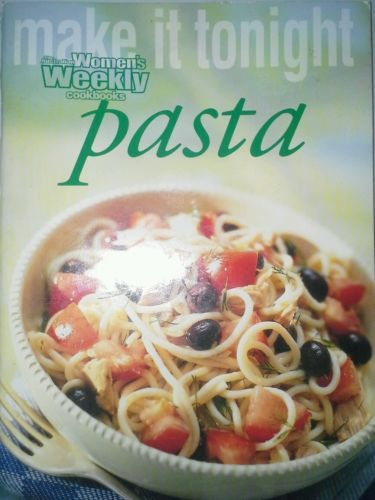 Women-039-s-Weekly-Pasta-Mini-Cook-Book-FREE-AUS-POST-very-good-used-condition-pback