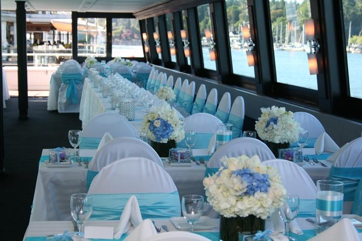 Fresh baby blue | The Wedding Yacht
