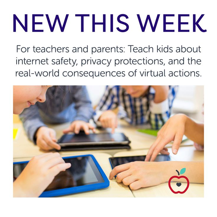 New This Week: Internet Safety, Cybersecurity, and Cyberbullying - While kids growing up in today's digital world are increasingly internet-savvy, they may not fully grasp the implications of their online activity. Creating future-ready students and teaching about internet safety, privacy protections, and the real-world consequences of virtual actions is now a crucial component of modern education, both in the classroom and at home. That's where the Center for Cyber Security and Education…