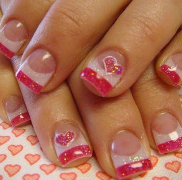 Valentine S Day Nails Art: 17 Best Ideas About Valentine Nail Art On Pinterest