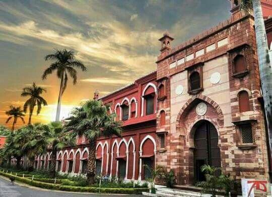 MAO College..! The Aligarh Muslim University..!
