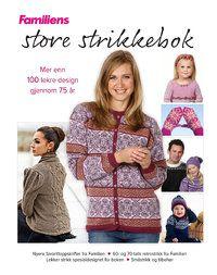 Familiens store strikkebok - Familienslillebutikk.no
