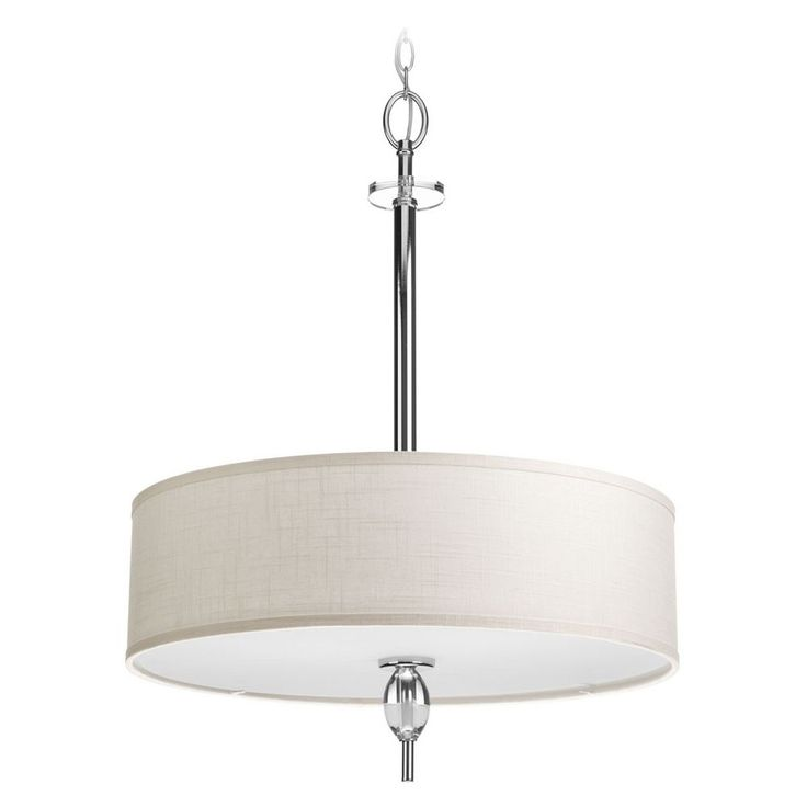 74 best lighting images on pinterest nickel finish bathroom progress lighting progress lighting status polished chrome pendant light with drum shade p3680 15 mozeypictures Choice Image