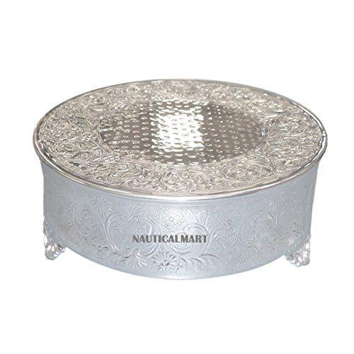 Polished Round Decorative Metal Cake Stand BY NAUTICALMAR... https://www.amazon.co.uk/dp/B072FGK4QZ/ref=cm_sw_r_pi_dp_x_izD6zbV0A80V8