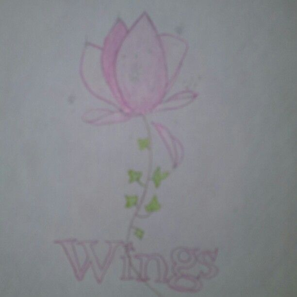 """My drawing done from one of my favourite books """"wings"""""""