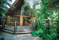 Ferntree Rainforest Resort - poolside room $336 2 nights - private cabbin $196 2 nights