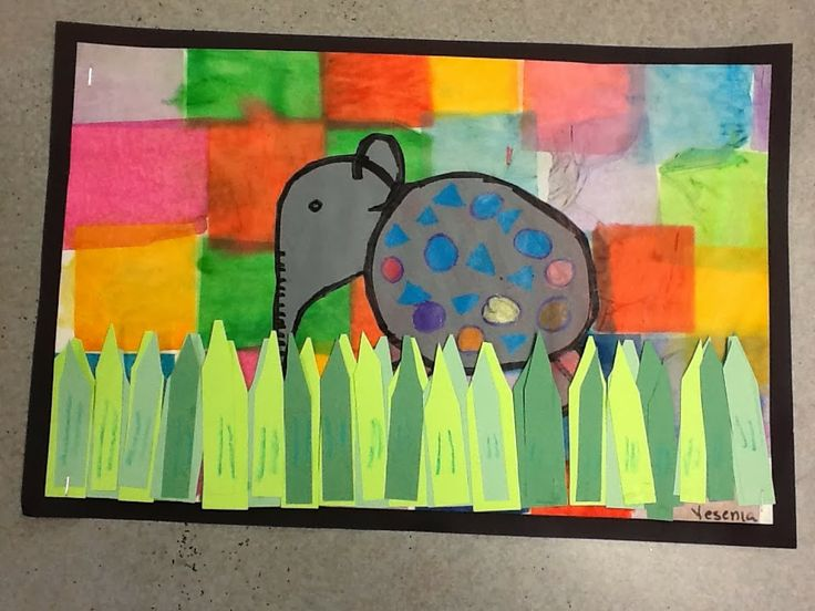 WHAT'S HAPPENING IN THE ART ROOM?? Elmer's Special Day