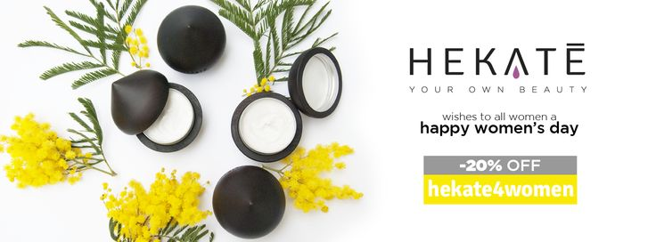 Hekatè celebrates the #womensday and gives you 20% off, with the #special #code 'hekate4women'! A Special #woman deserves The First #tailored #cream.  #women ‪#gift ‪#‎original #specialoffer ‪  #cosmetics #luxurycosmetics #skincare #beauty #youchoose #personalized #tailored #madebyyou