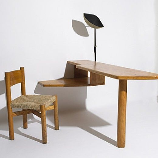 This came from Painting Box, a really well curated design site. This desk is by Charlotte Perriand, a pioneering designer that in common with many other female designers of the international movement is overlooked.