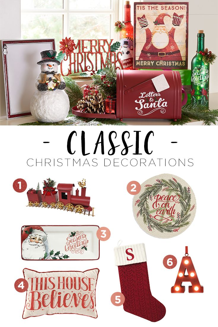 Christmas is the perfect time to get a little nostalgic. Our favorite classic Christmas decorations bring the feeling of celebrations past to your home year after year. Featured product includes: Trim-A-Tree decorations. Celebrate the season with Kohl's.