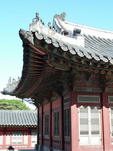 Seoul, South Korea: Gyeongbokgung palace