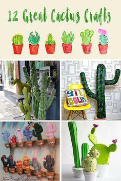 12 Great Cactus Crafts