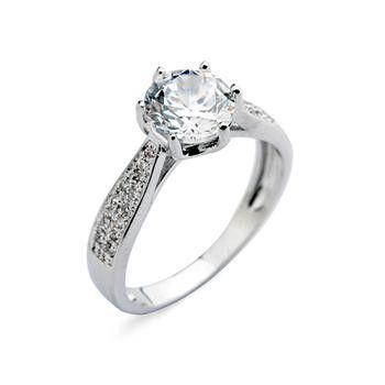 Последние обручальные кольца из Hexapos зубец установка AAA циркон кольцо из Italina Rigant-Ювелирные изделия из цинкового сплава-ID товара::60348872503-russian.alibaba.com