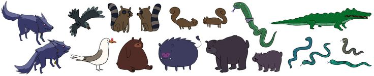 Adventure Time_Characters-season two