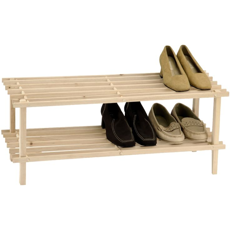cheap shoe rack.