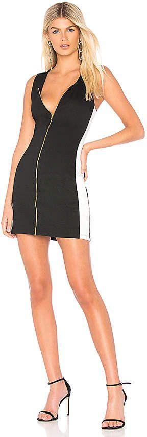 Bobi BLACK Racer Back Mini Dress