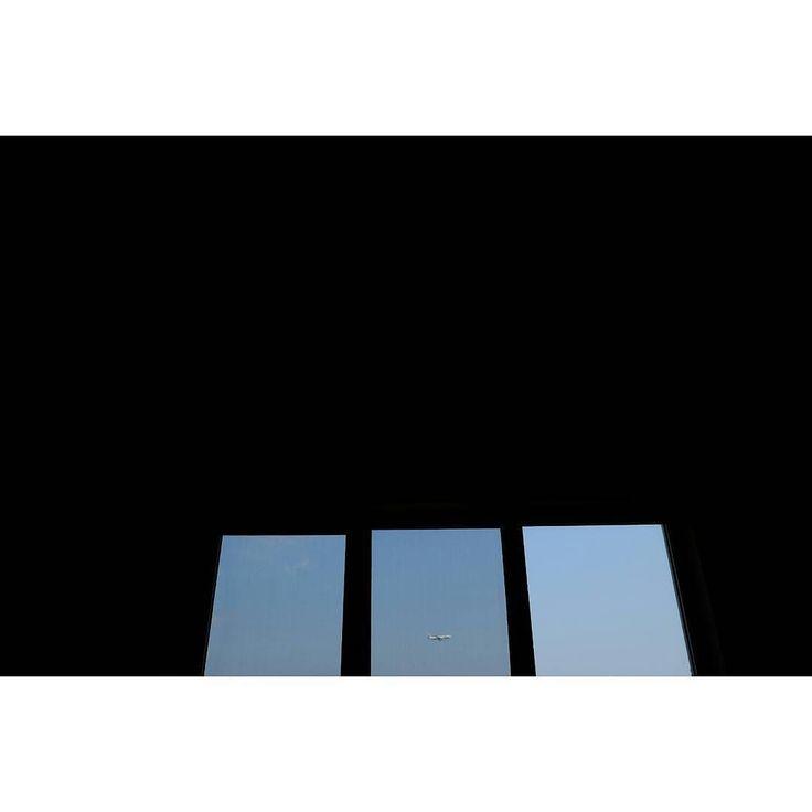 Untitled  #skantzman #heraklion #crete #window #airplane #colour #velvia #manolisskantzakis #photography #emptyness #sky #28mm #fujixpro1 #fuji #xpro1