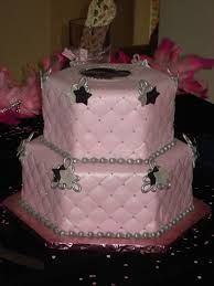 Image result for pink and silver cakes