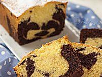 Plumcake panna e cioccolato bicolore | Ho Voglia di Dolce