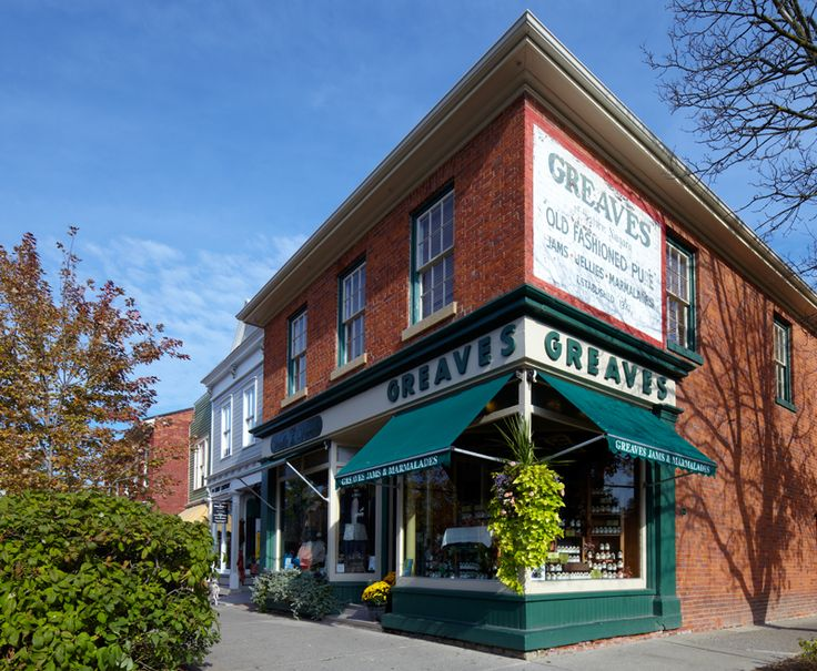 Where it all happens at Greaves Jams Store, and Greaves Sweet Escape. The jam was made here for 62 years, before moving to a larger facility in Niagara on the Lake.