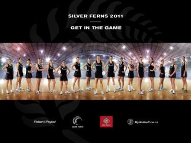 Silver Ferns NZ Netball
