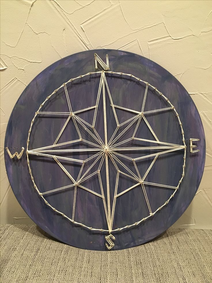 String art compass