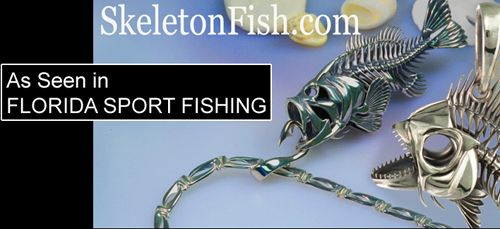 65 best images about skeleton fish jewelry on pinterest for Fish skeleton necklace