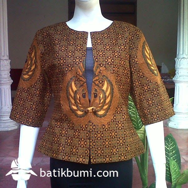 Blazer Truntum Garudo w/ Trikot DBT 046 | jual batik murah, Batik modern, batik sarimbit, baju batik