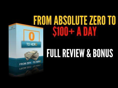 From Zero To Hero Review: https://www.youtube.com/watch?v=F2JkjGLsEdE From Zero To Hero Review:  https://4kperweek.com/zero-to-hero-review/ Get Zero To Hero & Bonus: https://4kperweek.com/get-zero-to-hero-bonus