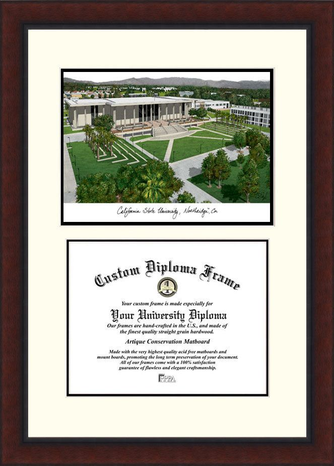 NCAA California State University, Northridge Legacy Scholar Diploma Picture Frame