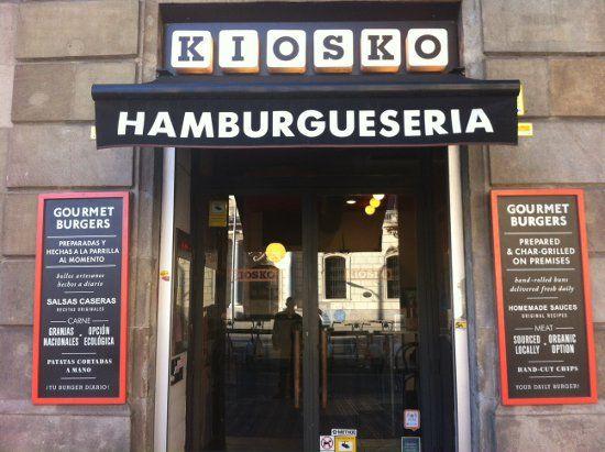 KIOSKO: ¿Las mejores hamburguesas de Barcelona? | DolceCity.com