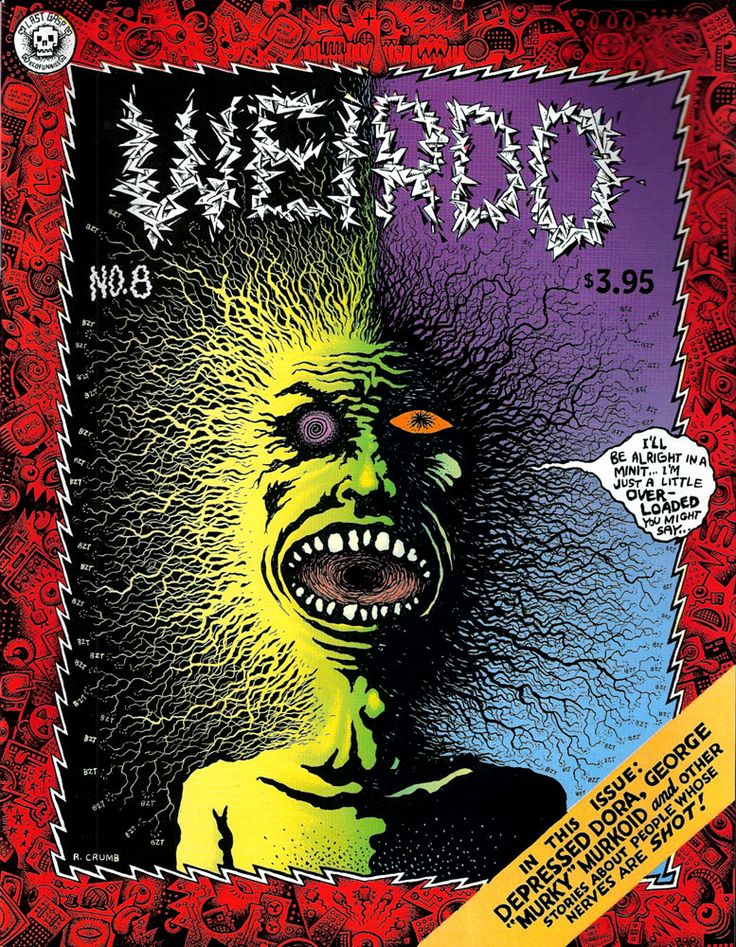 r.crumb comics | Confessions of an Unrepentant Comic Collector: R.Crumbs WEIRDO covers