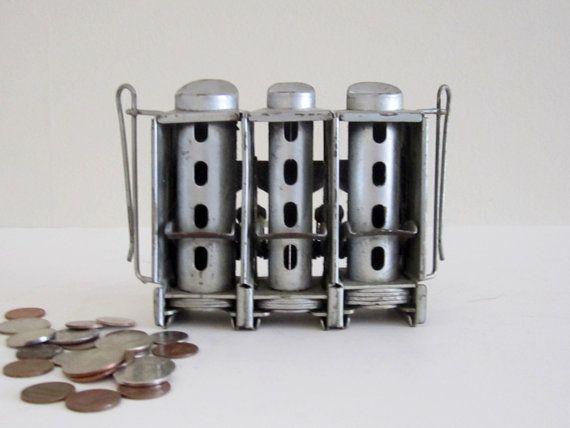 Vintage Johnson Fare Box Coin Changer - Industrial Loft Home Decor. $22.00, via Etsy.