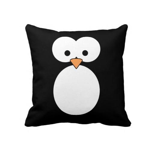 Pinguin-Kissen