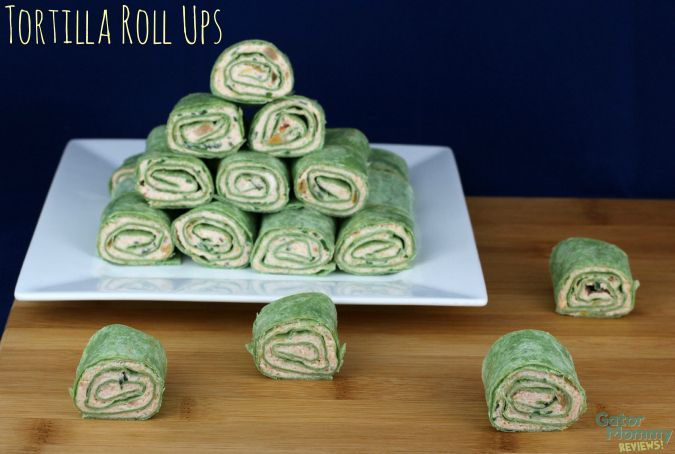 Tortilla Roll Ups - Gator Mommy Reviews