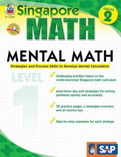 Mental Math, Grade 2/Level 1: Strategies and Process Skills to Develop Mental Calculation