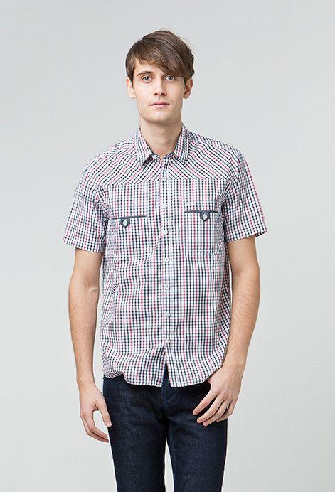 Lee Cooper mempersembahkan short sleeves checked shirt for this season, MINIONS! Motif kotak-kotak yang atraktif terpadu dengan potongan slim fit yang pas di tubuh akan menjadi pilihan tepat bagi gaya kasual Anda. Koleksi ini memiliki detil kantung bobok atau besom yang terletak pada bagian kanan dan kiri dada. Terbuat dari bahan katun berkualitas yang nyaman dikenakan, MINIONS mudah dipadu-padankan bersama aneka bawahan kesayangan. Hadir dalam dua pilihan warna, russet check & midnight…