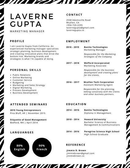 14 best CV Resume images on Pinterest Cv template, Apartment - print free resume