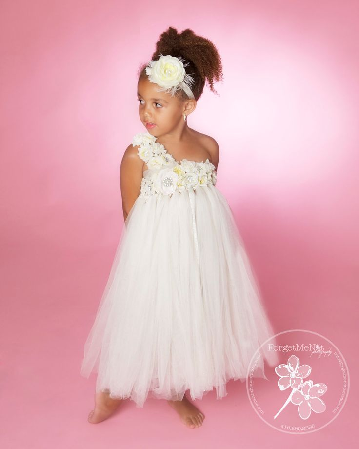 Tutu Dress..Birthday Tutu Dress.. Flower Girl Dress