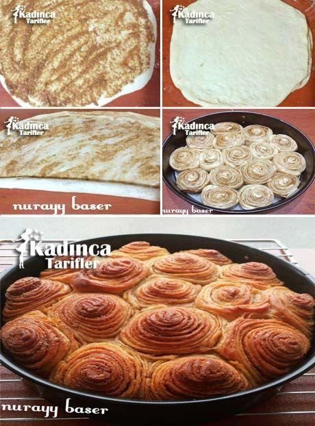 Haşhaş Ezmeli Çörek Tarifi
