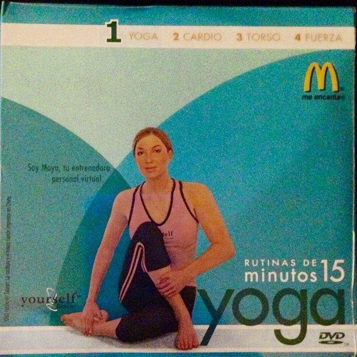New McDonalds 15 Minute Workout Yoga DVD Bilingual English Spanish Exercise #1