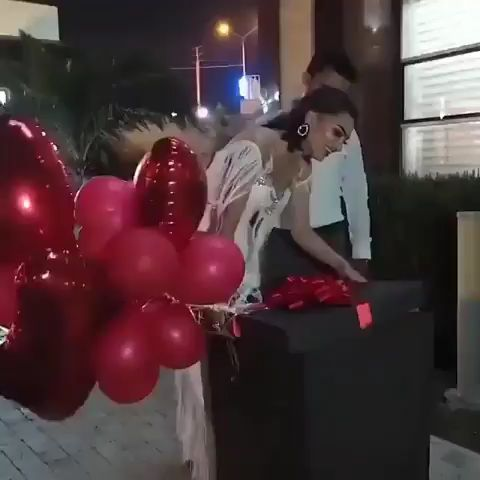 The most romantic proposal ever!!