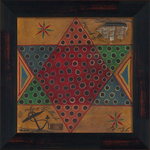 Chinese Checkers Gameboard
