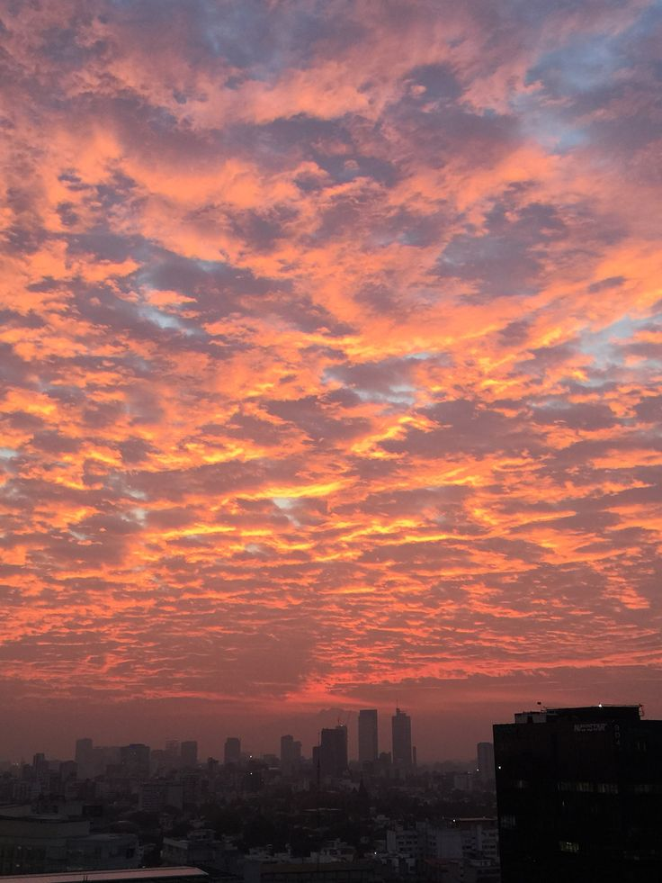 Lindo amanecer!!!